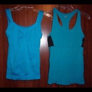 Tops - Blue Tank Tops, Bundle of 2, New